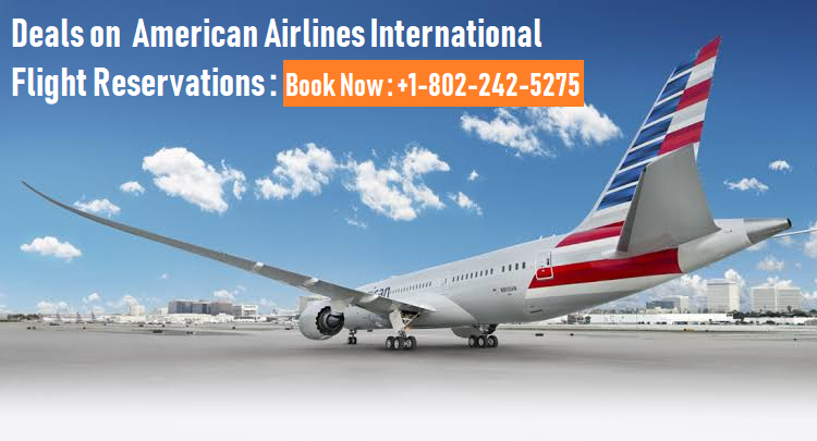 American Airlines International Flight Reservations
