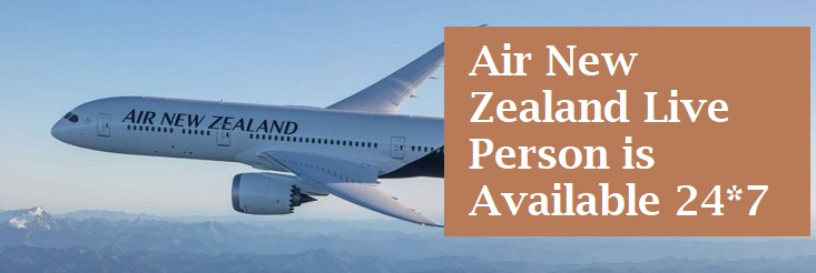 Air New Zealand Live Person