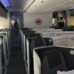 Upgrade seats in Air Canada