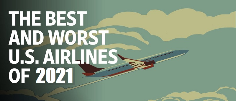 Best and Worst U.S. Airlines